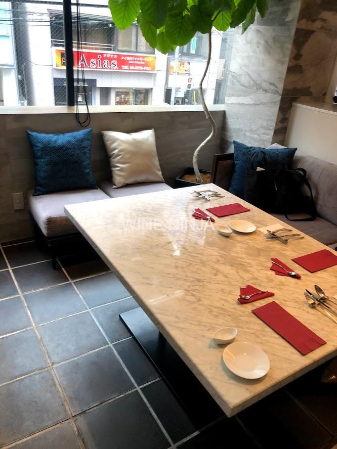 東京でワインが飲めるお店 Lounge1908 Restaurant 表参道/フレンチ